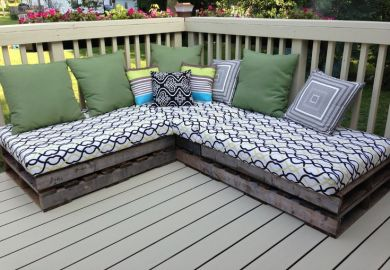 Pallet Outdoor Furniture Cushions Woodworking Projects