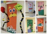 Dr. Seuss Door Decorating Ideas | Dr. Seuss Day | Pinterest