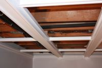 Coffered drop ceiling