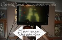 Flat Screen TV Wiring Visible? Mantel Reno Solution!