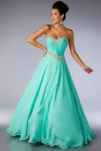 Aqua blue prom dress | Color ~ Aqua, Teal, Tiffany ...
