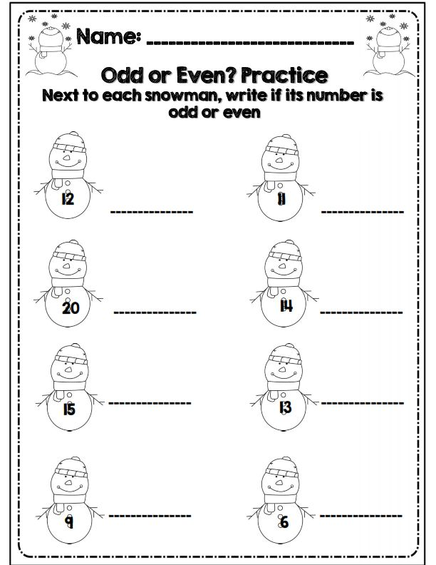 No Prep* Second Grade Common Core Winter Math & ELA Packet