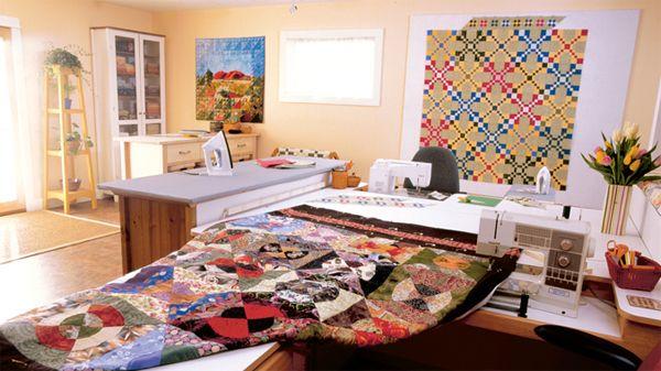 Quilt design wall ideas