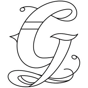 Fancy G Font Letters, Fancy, Free Engine Image For User