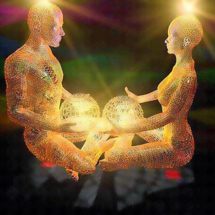 en total conexion dde energías amorosas para la sanación del planeta