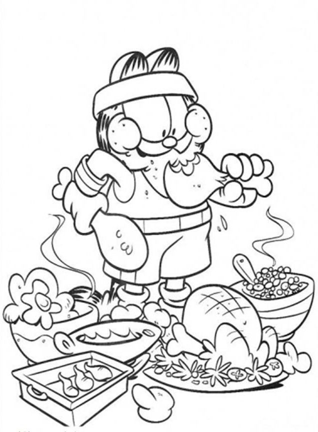 hard coloring pages cute food coloring pages