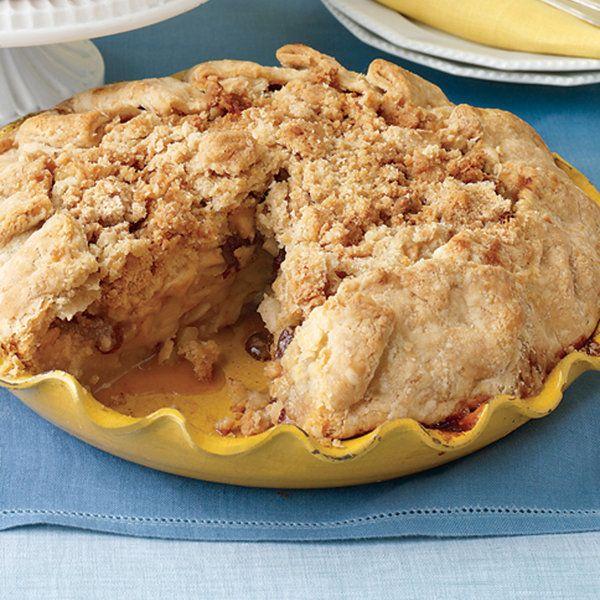 apple crumb pie recipe food recipes yahoo shine