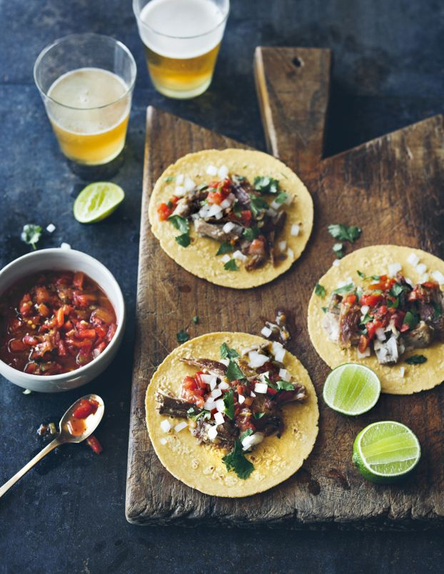 Tacos | Cook Good Food | William Sonoma Recipe Book | Eva Kolenko Photograhpy