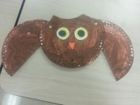 Paper plate owl | Art Work | Pinterest