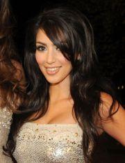 kim kardashian big teased hair