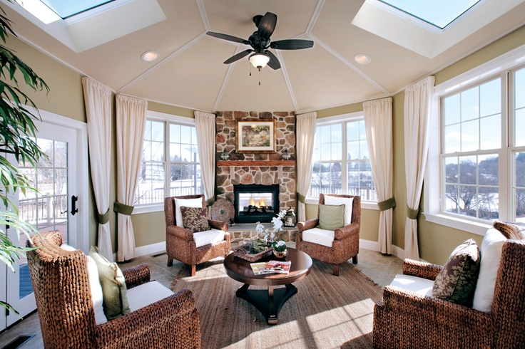 Sun room off the kitchenlove  Home Sweet Home  Pinterest