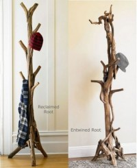 tree branch coat rack | DIY Design | Pinterest