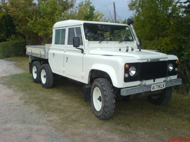 Pin by James Laycock on Land Rover 6x6