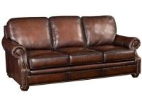 Leather and Bonded Leather Sofas: Rustic Leather Sofa