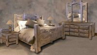 Rustic Western Bedroom Set   For Our Ranch: Rustic Style ...