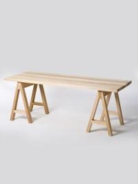 douglas & bec - sawhorse table | Mudroom/craftroom Ideas ...