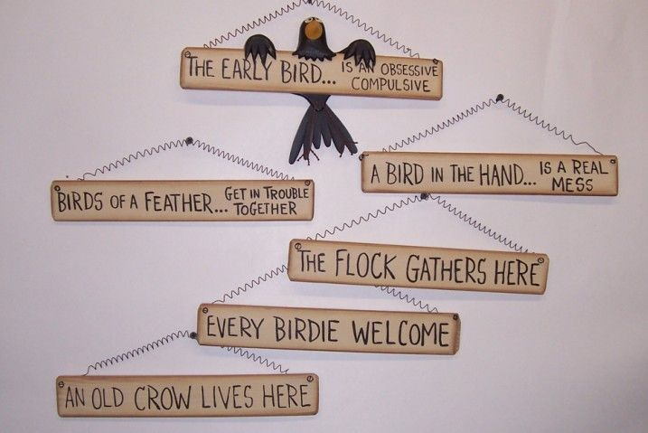 Home Decor Signs Sayings