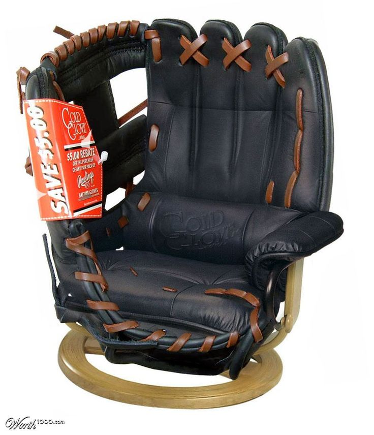 Baseball Chair  Worth1000 Contests  Sports  Pinterest