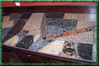 Granite Remnant Mosaic Countertop Granite Recycling