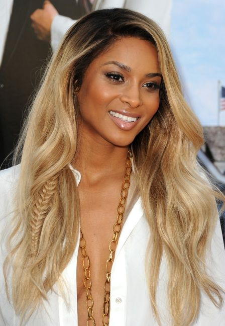 Super Blonde #Ciara - blended #fishtail