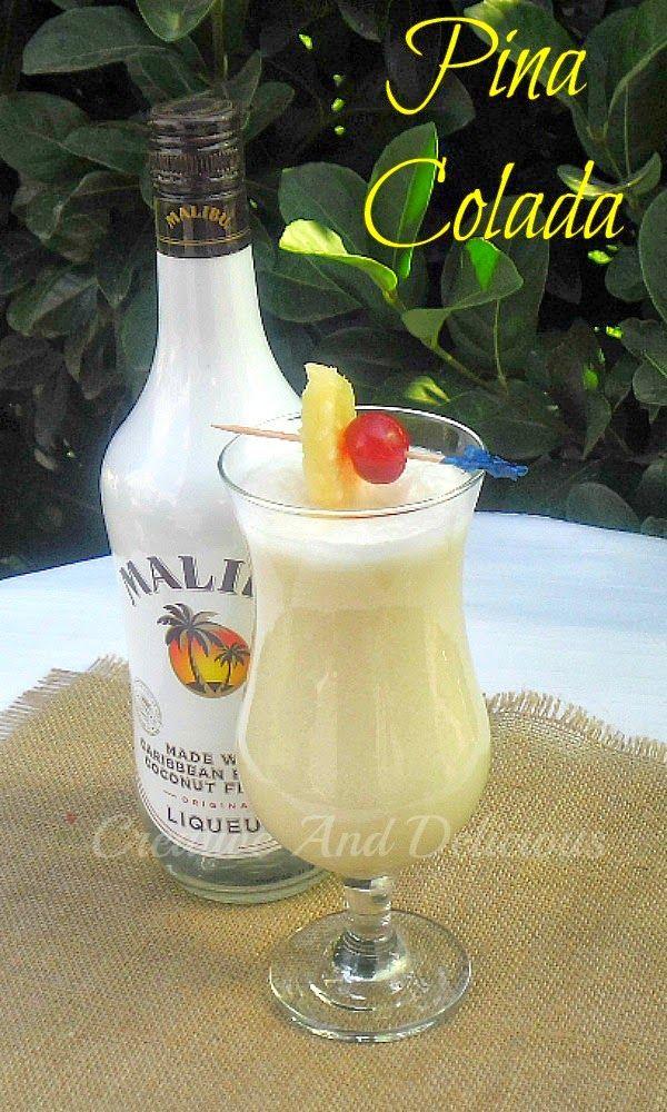 Delicious tropical cocktail ~favorite Pinterest pins