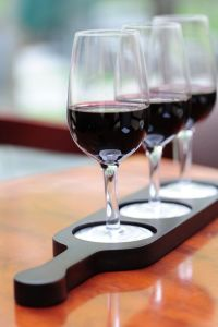 Wine flight holders