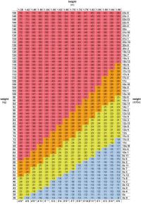 Bmi Scale Chart Nhs - How to work out your ideal body ...