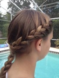 Wrap Around Braid Style Pictures | wrap around braid hair ...
