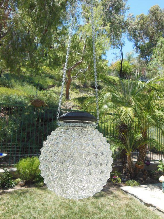 Outdoor Hanging Globe Lights