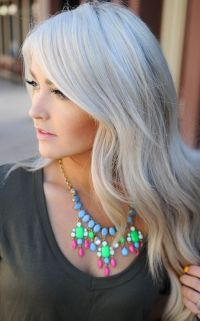 Hair color... | silver, white, platinum hair | Pinterest