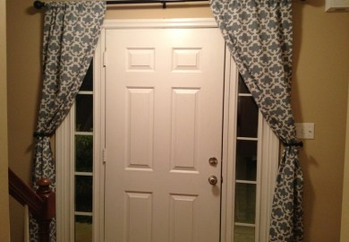 Images About Curtains On Pinterest Sidelight