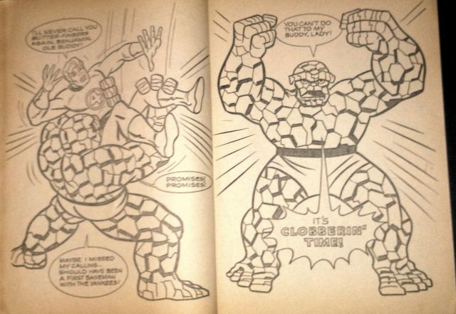 Whitman Coloring Books | The SuperHero Satellite