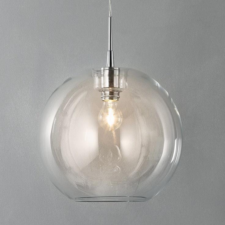 Fish bowl pendant lamp