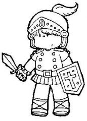 Armor Of God Coloring Pages For Kids Sketch Coloring Page