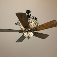 """56"""" Craftmade Cortana In Peruvian With Crystal Ceiling Fan"""