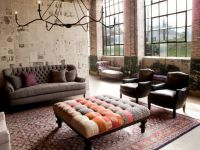 industrial living room. | industrial chic | Pinterest