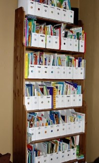 Children's Book Storage Solution | Classroom Ideas | Pinterest
