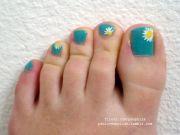 toenail art nail