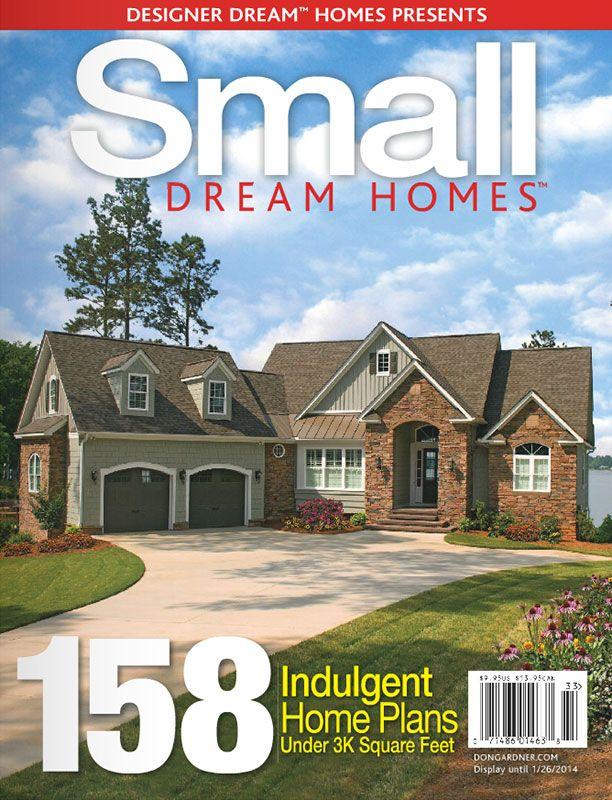 Small Dream Homes FREE Online Edition HousePlansBlog