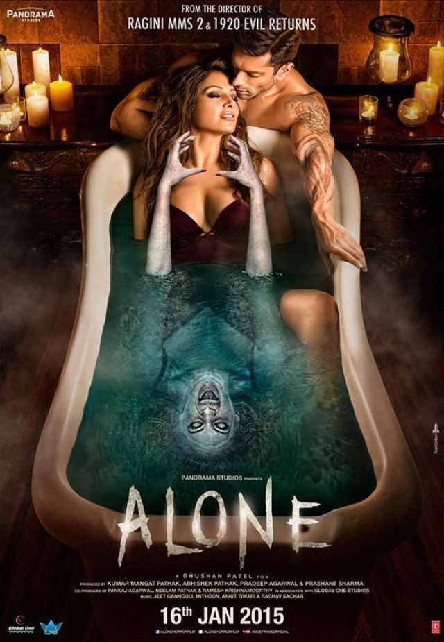 #Alone Poster 2 Releasing 16th January 2015 #CinePark #Valsad