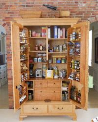 Kitchen storage cabinets free standing | A Cottage of My ...