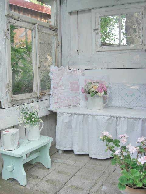 Shabby Chic Beautiful Porch!