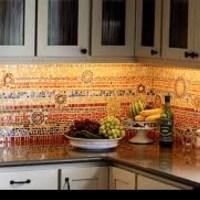A beautiful Spanish tile backsplash | Home ideas | Pinterest