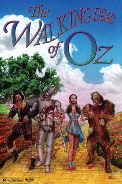 The Walking Dead / Wizard of Oz mashup