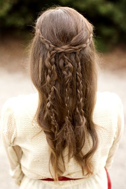A trio of braids.