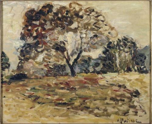Landscape+of+Corsica+-+Henri+Matisse