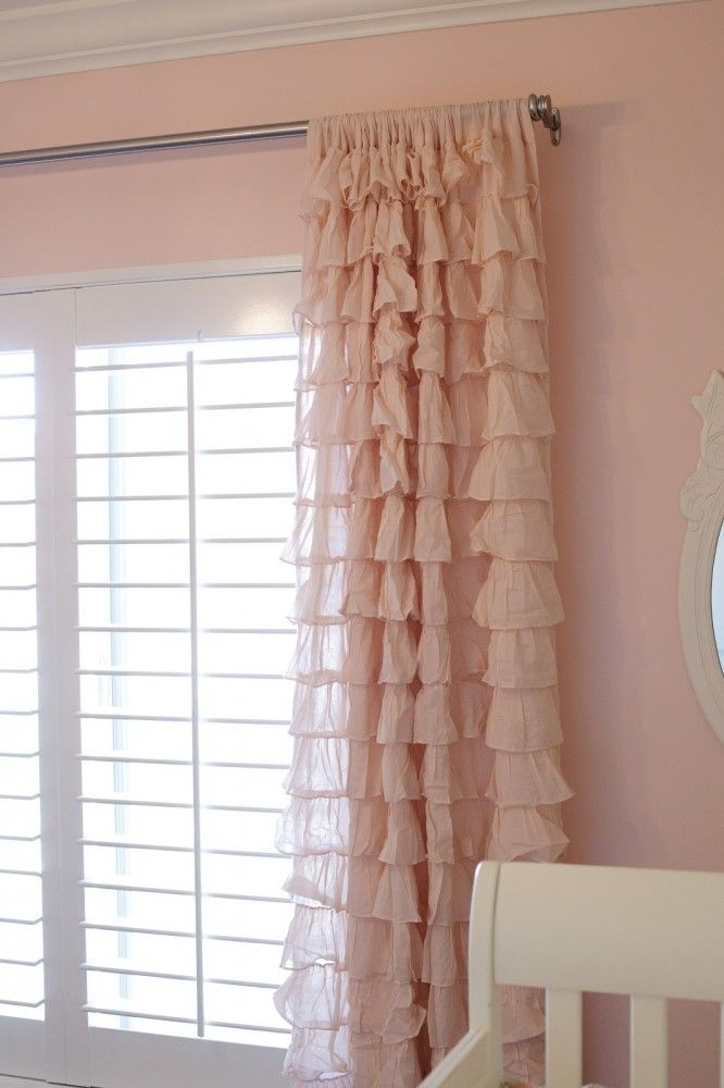 curtains like this for a girls nursery
