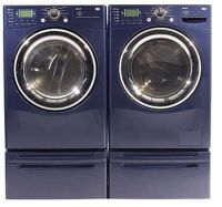 Washers And Dryers: Purple Washer And Dryer