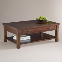 Madera Coffee Table   World Market   Living Room Spruce Up ...