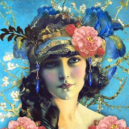 Gypsy Living Traveling In Style| Serafini Amelia| Gypsy-Queen| Romany Soup Art